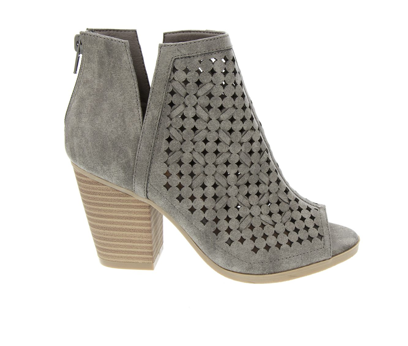 Sugar Vael 3 Women's Boot (Gray Faux Leather)
