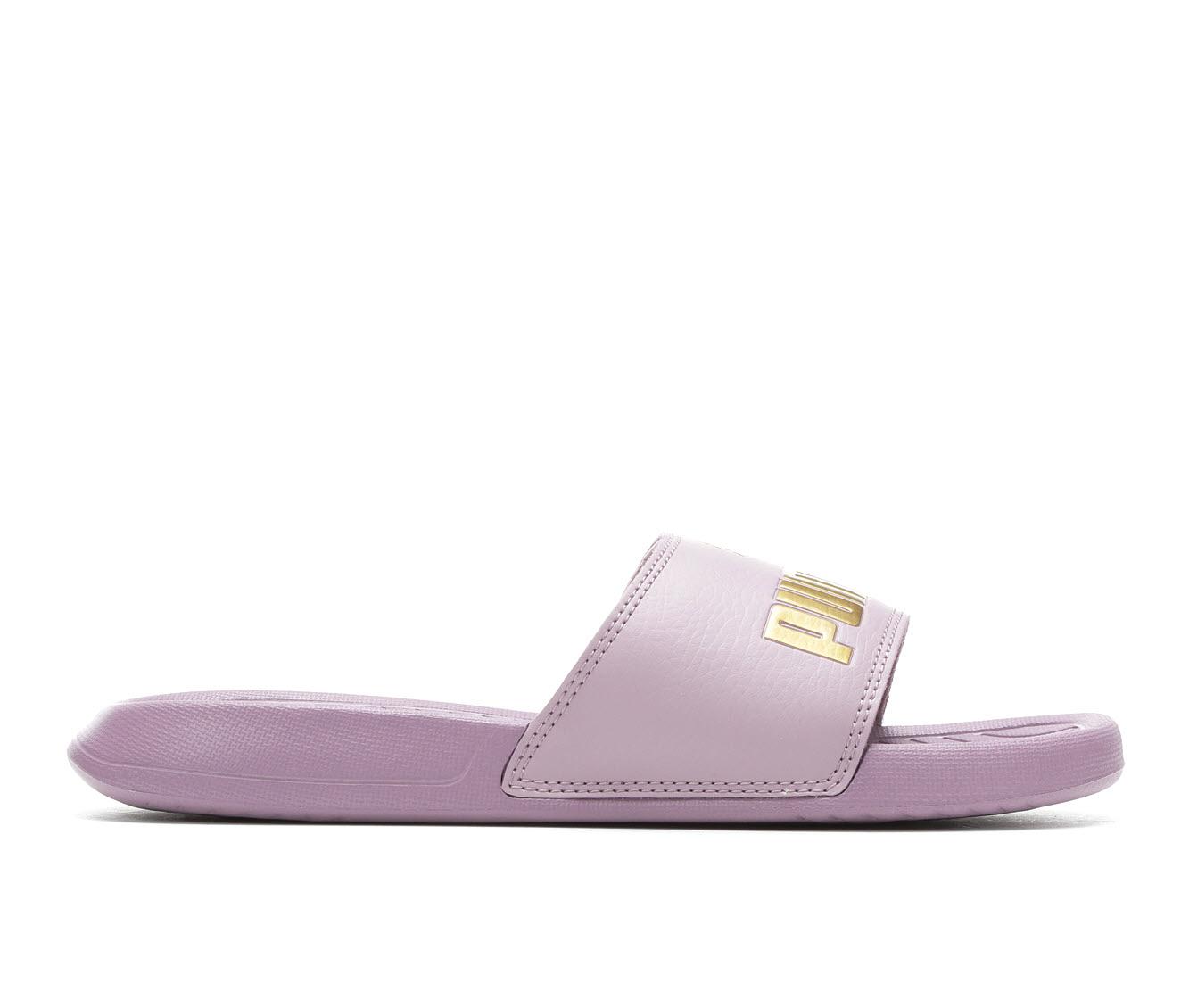 Puma Popcat Womens Women's Shoe (Purple Faux Leather)