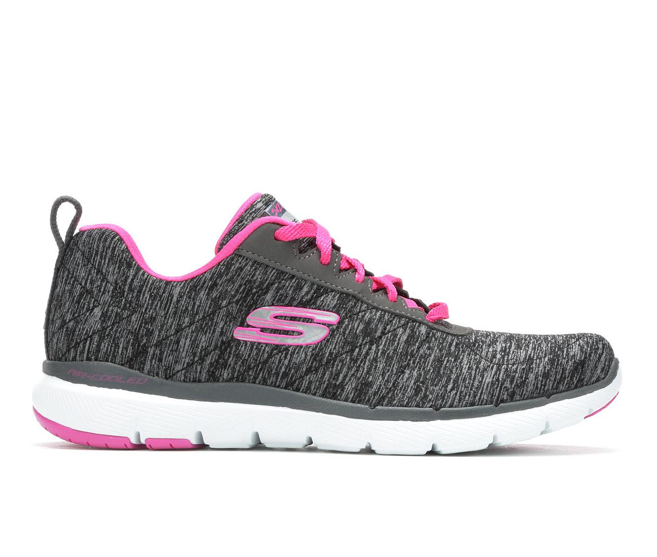 Skechers Insiders 13067 Women's Athletic Shoe (Black)