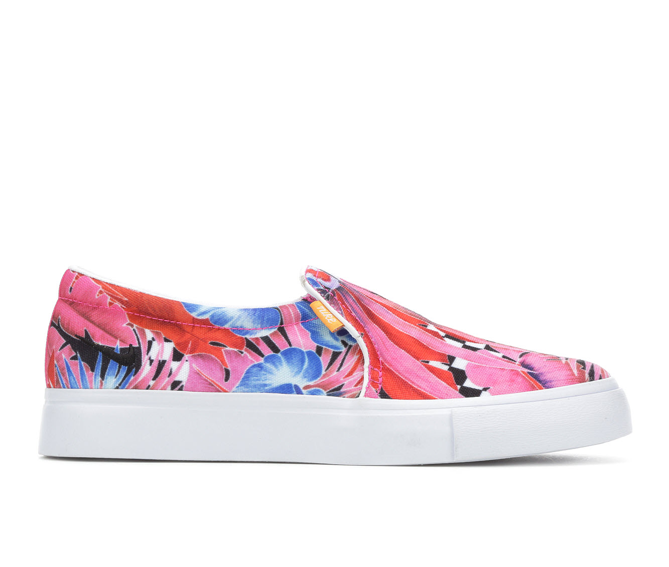 Nike Court Royale AC Slip On Print Women's Athletic Shoe (Pink)