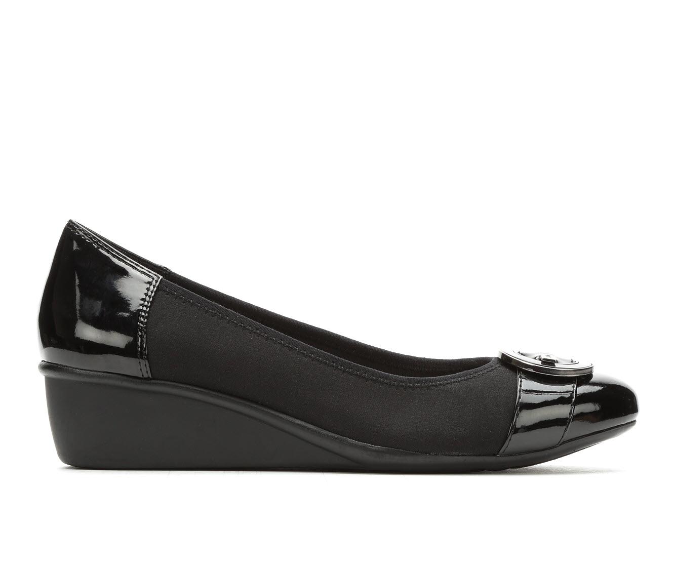 Anne Klein Sport Decklyn Women's Shoe (Black Canvas)