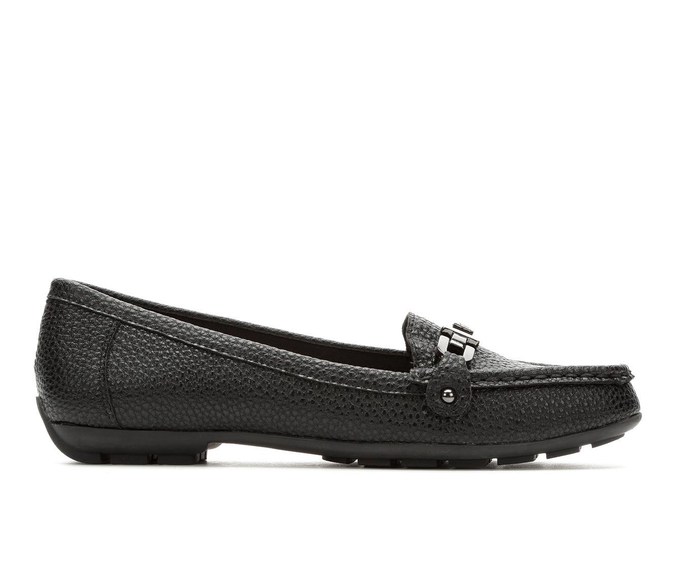 Anne Klein Sport Odion Women's Shoe (Black Faux Leather)