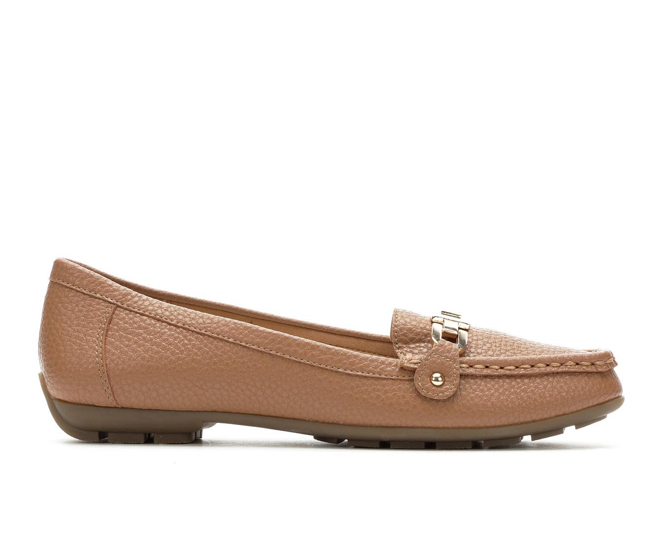Anne Klein Sport Odion Women's Shoe (Brown Faux Leather)