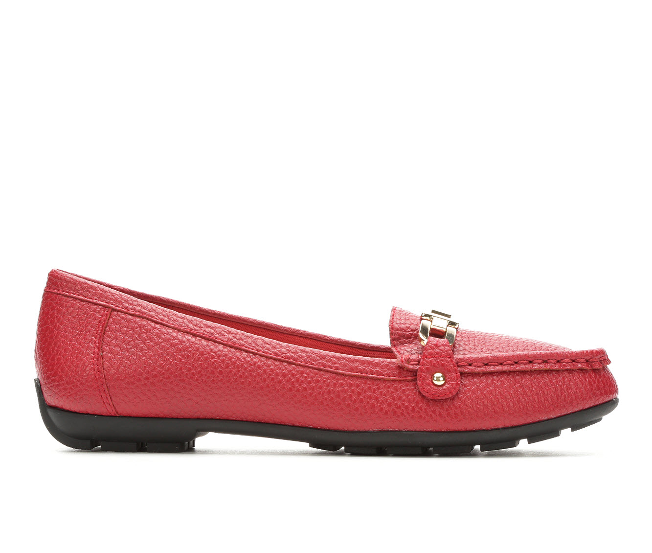 Anne Klein Sport Odion Women's Shoe (Red Faux Leather)