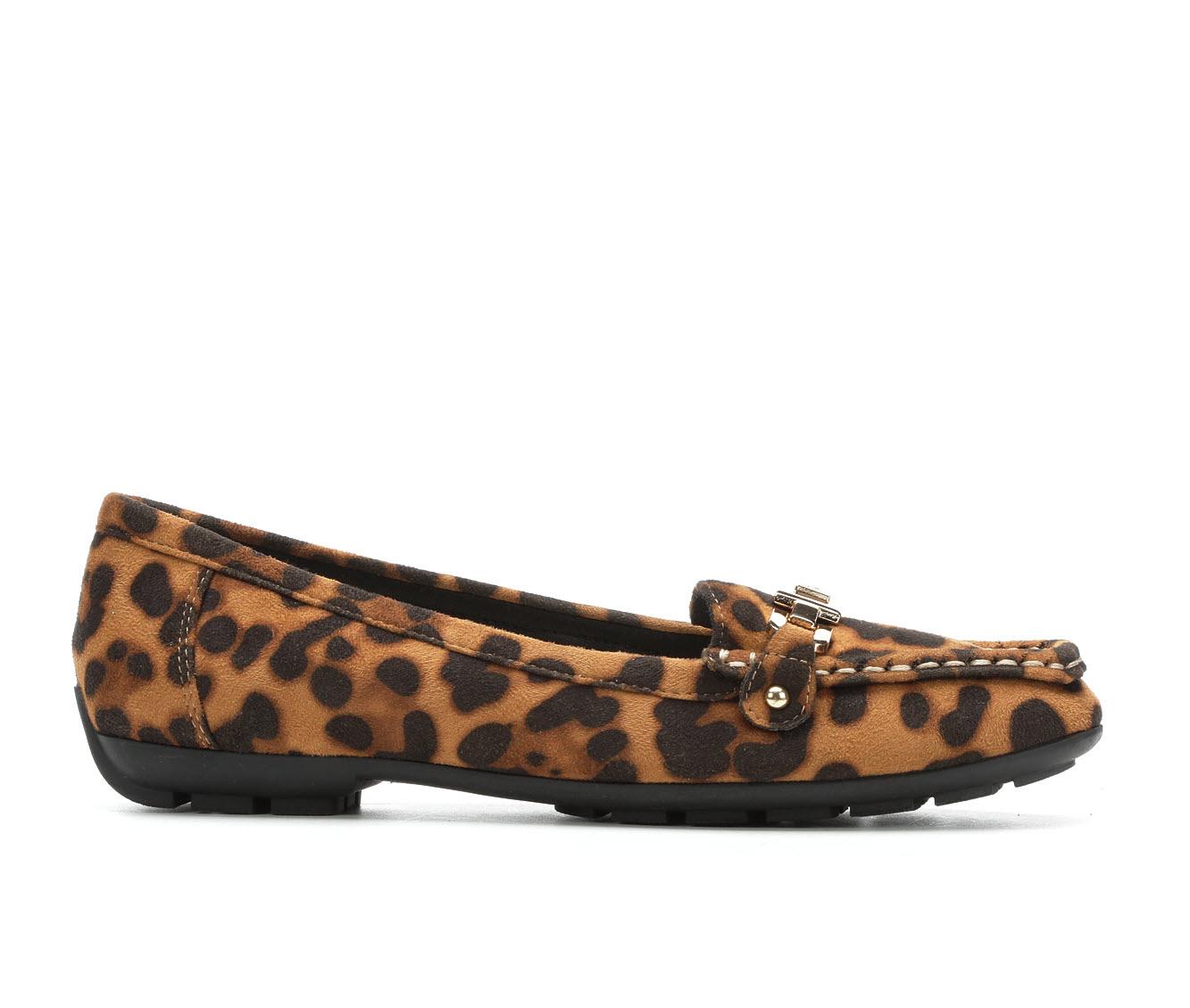 Anne Klein Sport Odion Women's Shoe (Brown Canvas)