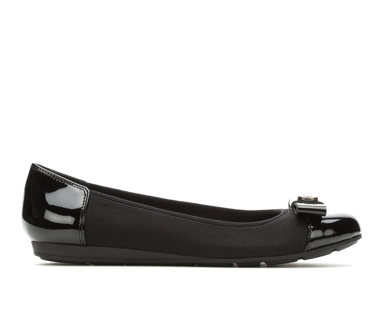 Anne Klein Sport Alain Women's Shoe (Black Canvas)