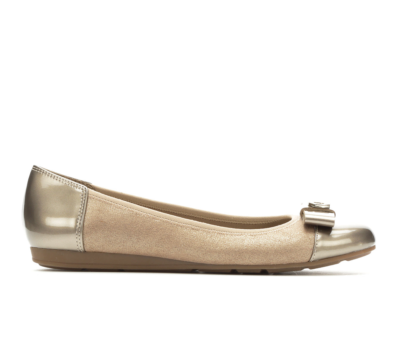 Anne Klein Sport Alain Women's Shoe (Silver Canvas)