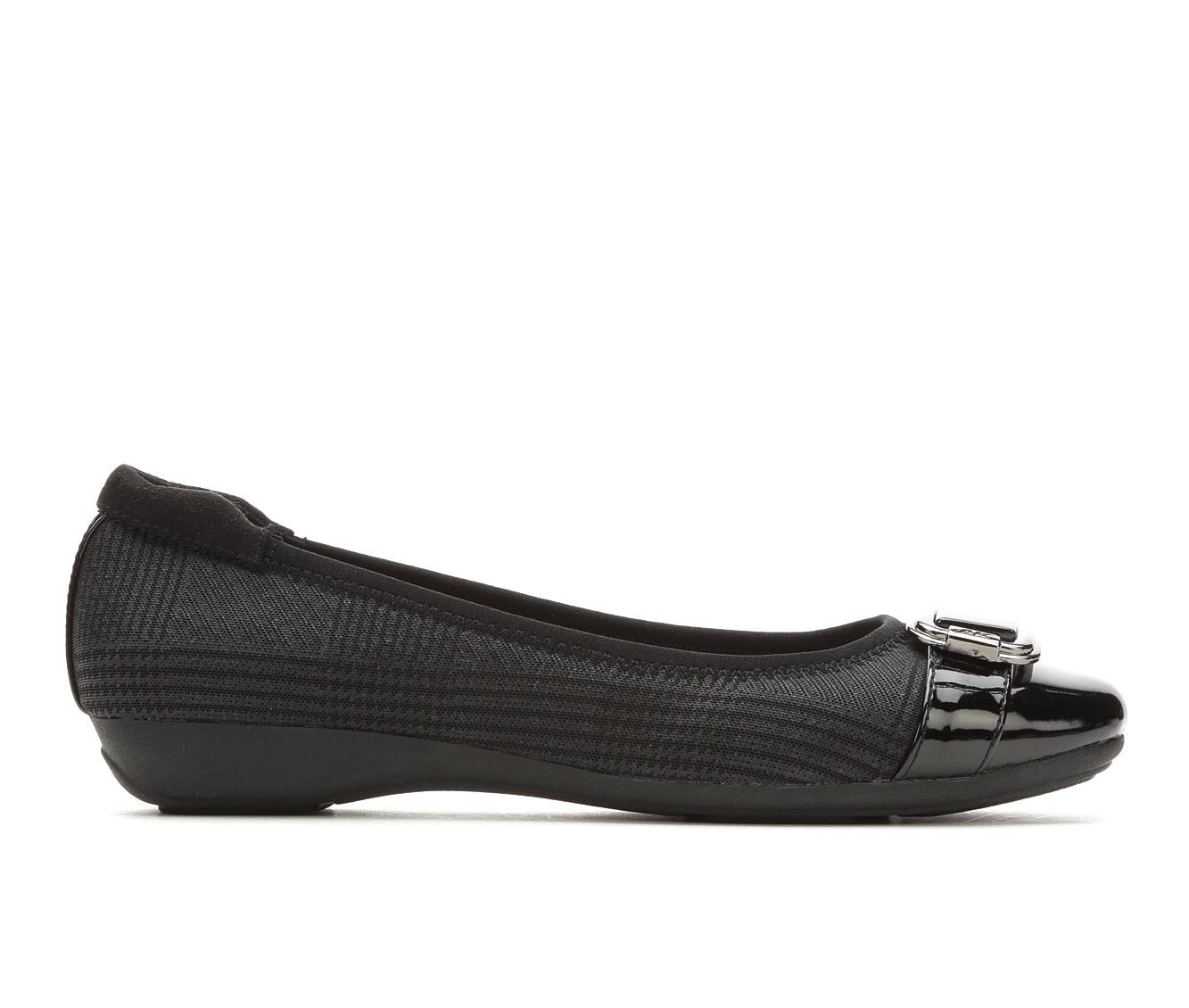 Anne Klein Sport Unai Women's Shoe (Black Canvas)