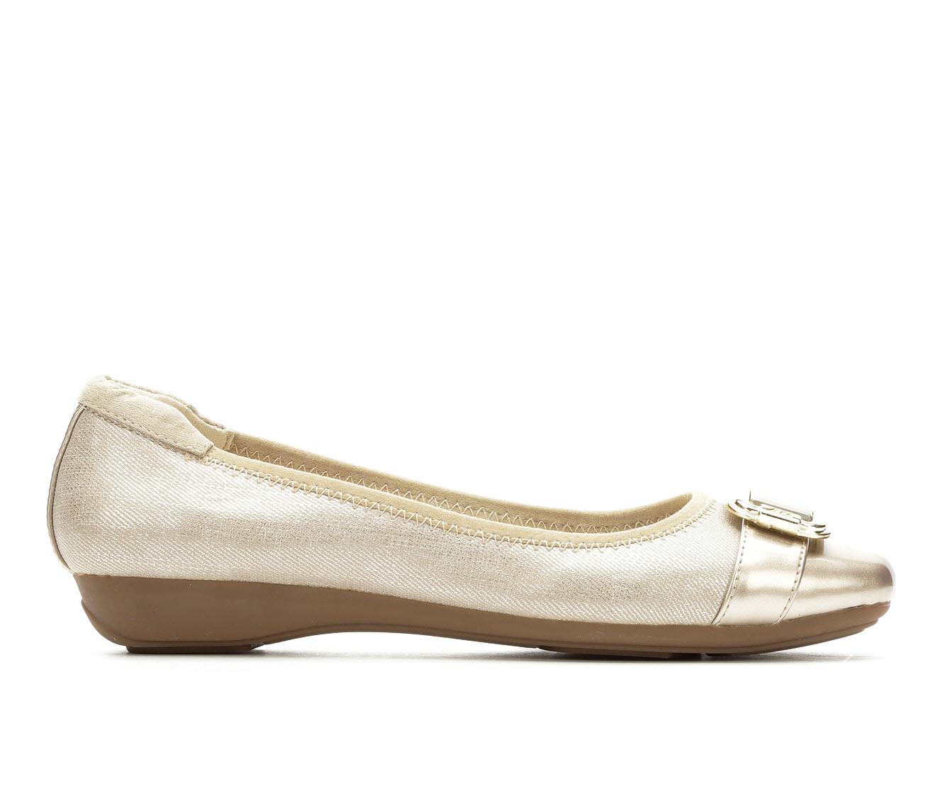 Anne Klein Sport Unai Women's Shoe (Silver Canvas)