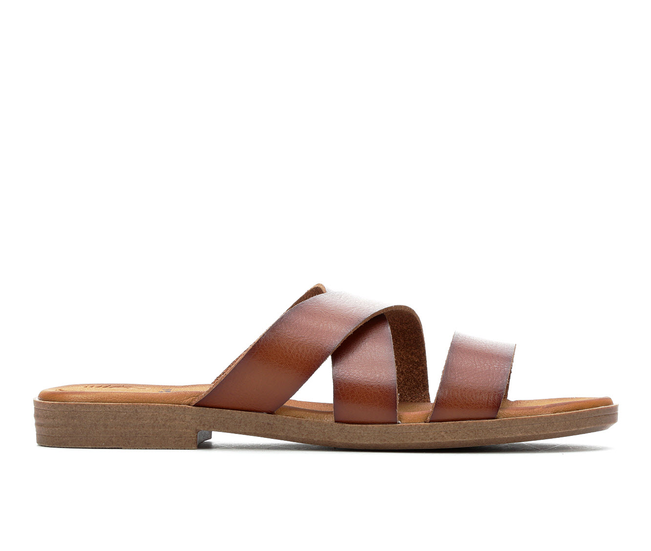 Jellypop Constance Women's Sandal (Brown Faux Leather)