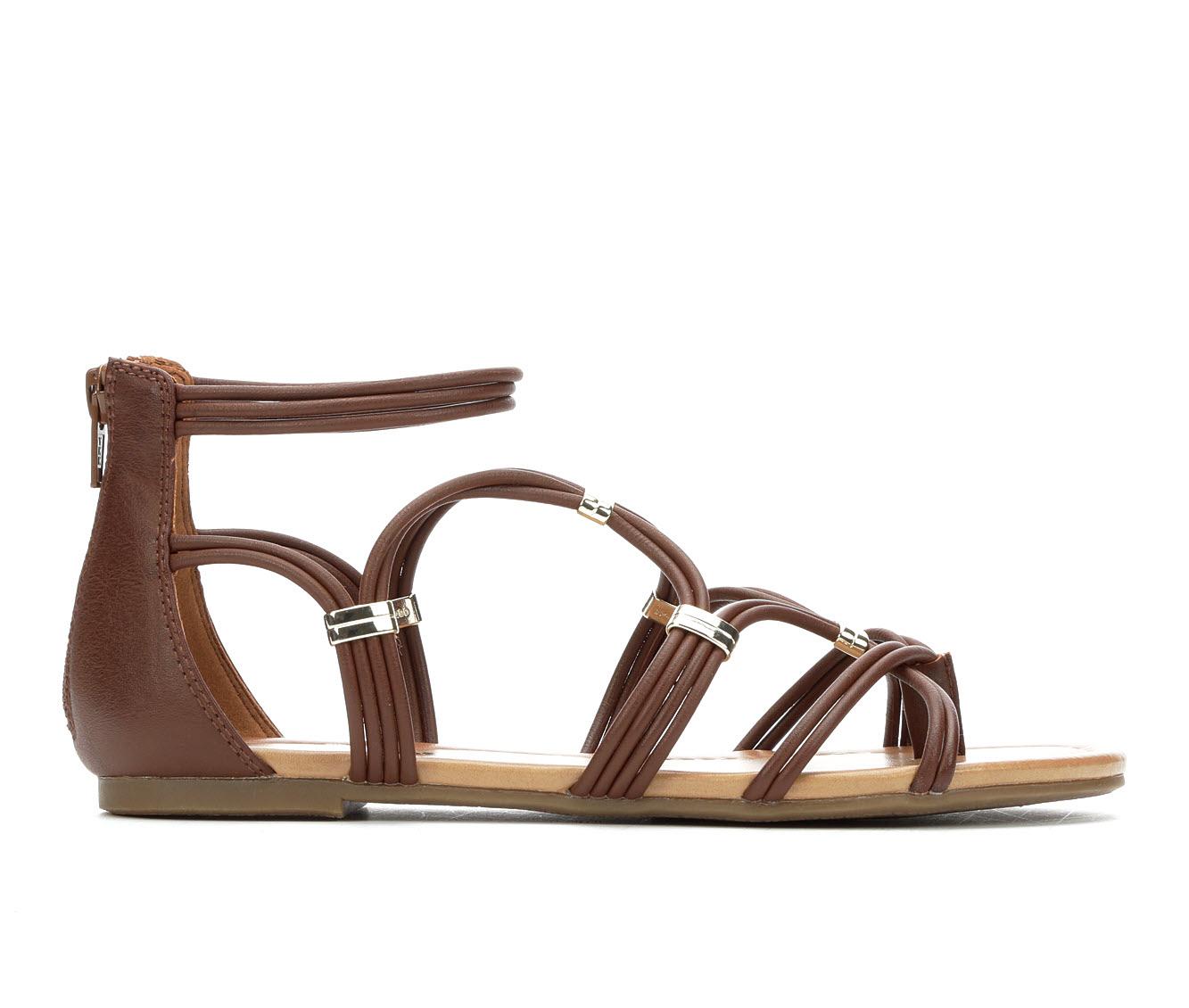 Makalu Laya Women's Sandal (Brown Faux Leather)