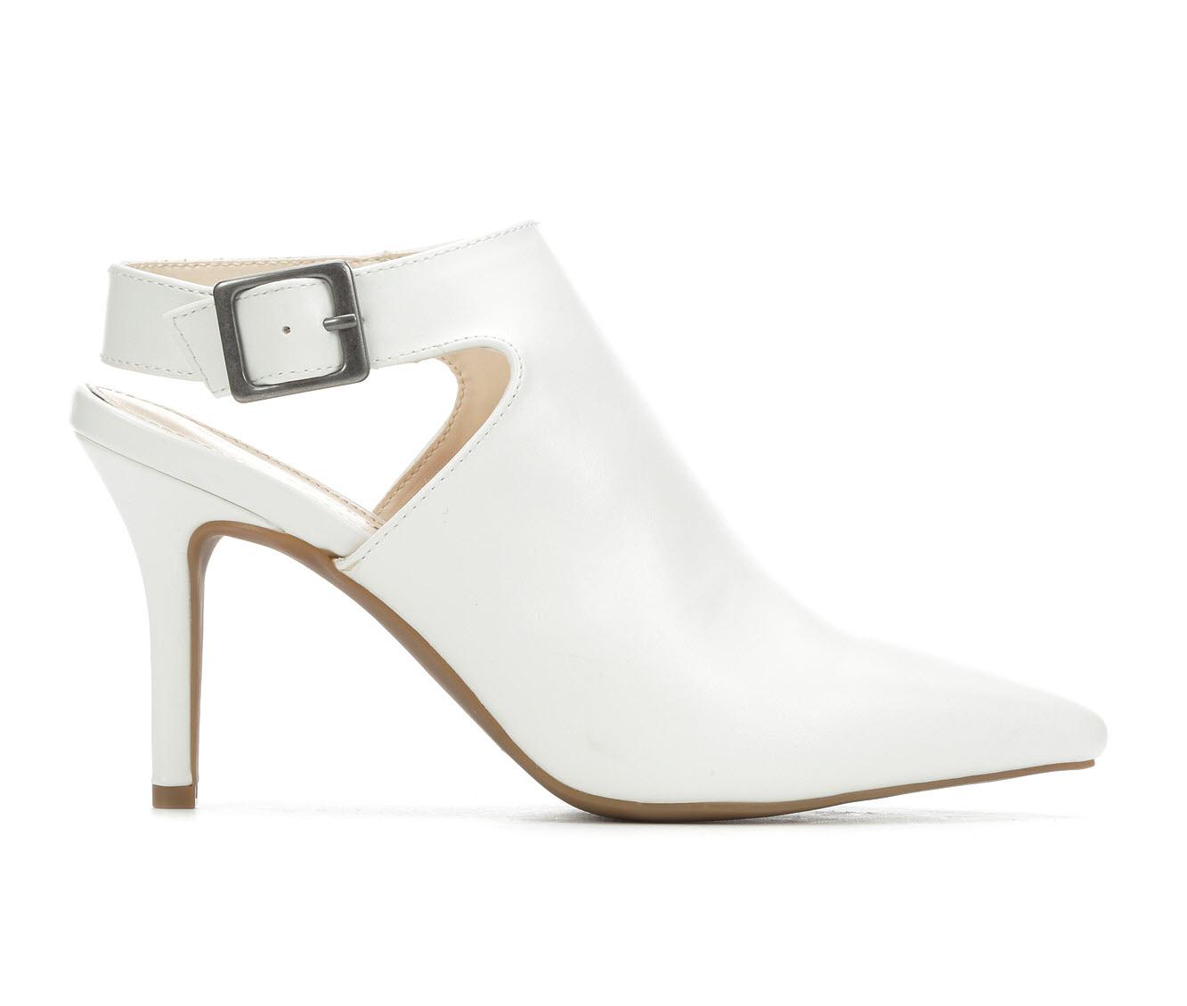 Seven Dials Sherly Women's Dress Shoe (White Faux Leather)