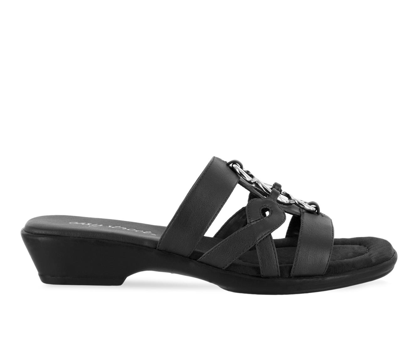 Easy Street Torrid Women's Sandal (Black Faux Leather)