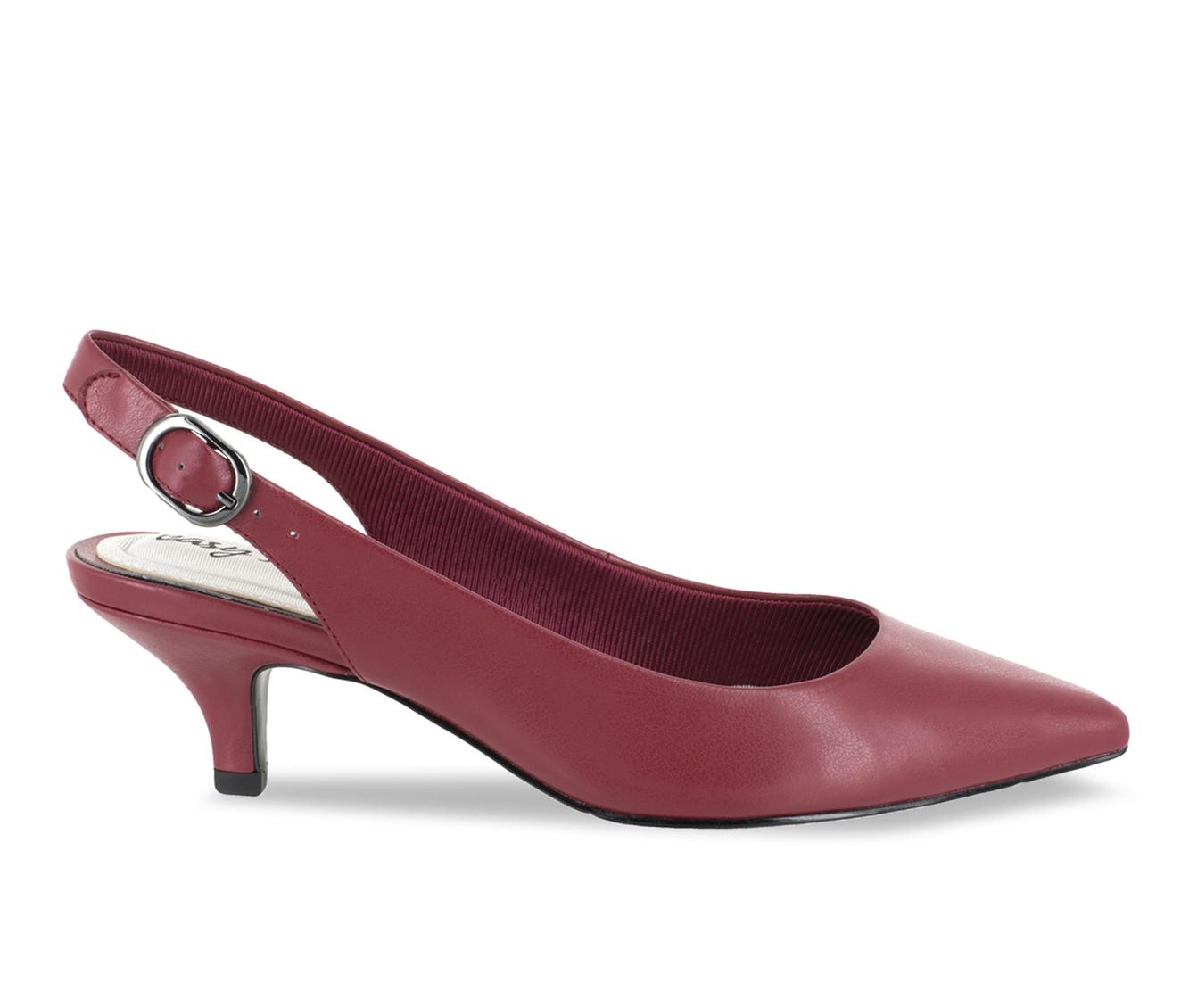 Easy Street Faye Women's Dress Shoe (Red Faux Leather)