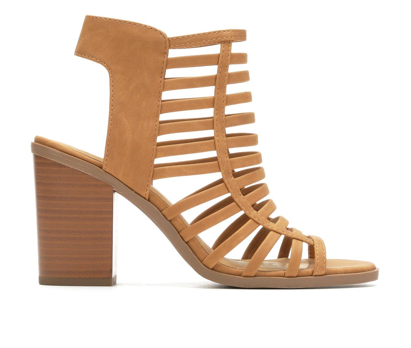 Soda Depth Women's Dress Shoe (Brown Faux Leather)