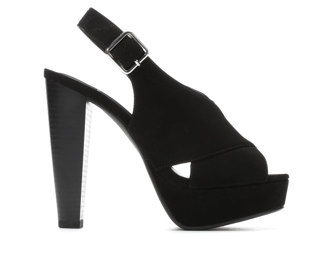 Delicious Hab Women's Dress Shoe (Black Faux Leather)