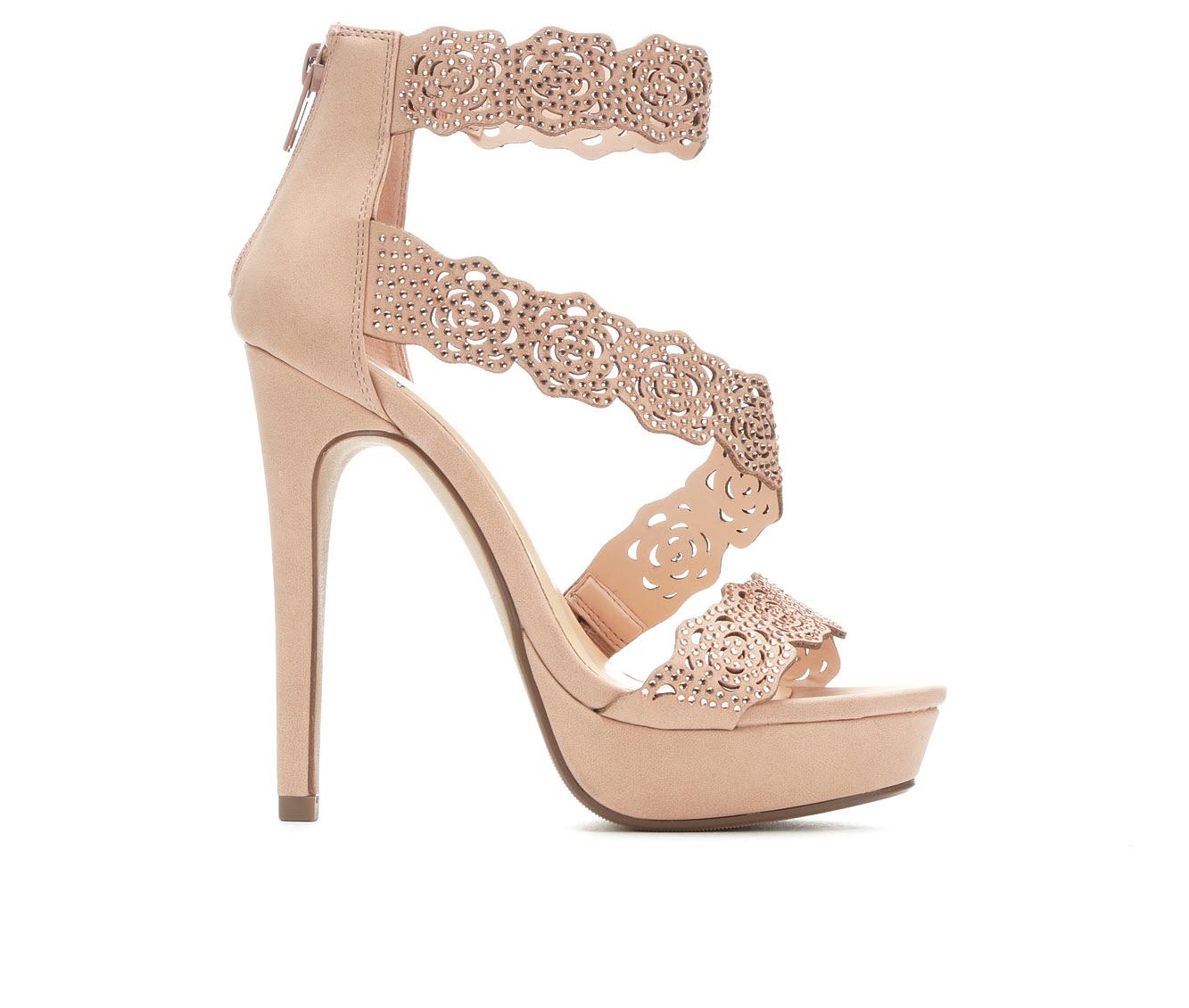 Delicious Yodels Women's Dress Shoe (Pink Faux Leather)