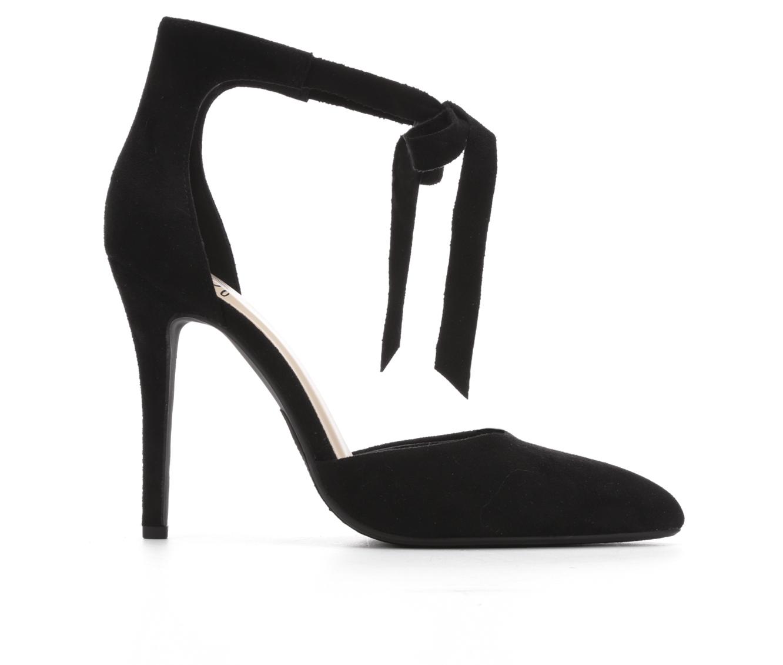 Delicious Roundup Women's Dress Shoe (Black Canvas)