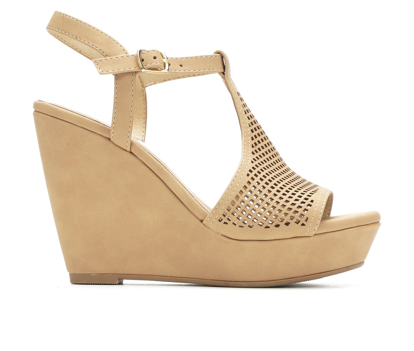 Y-Not Jacoby Women's Dress Shoe (Beige Faux Leather)