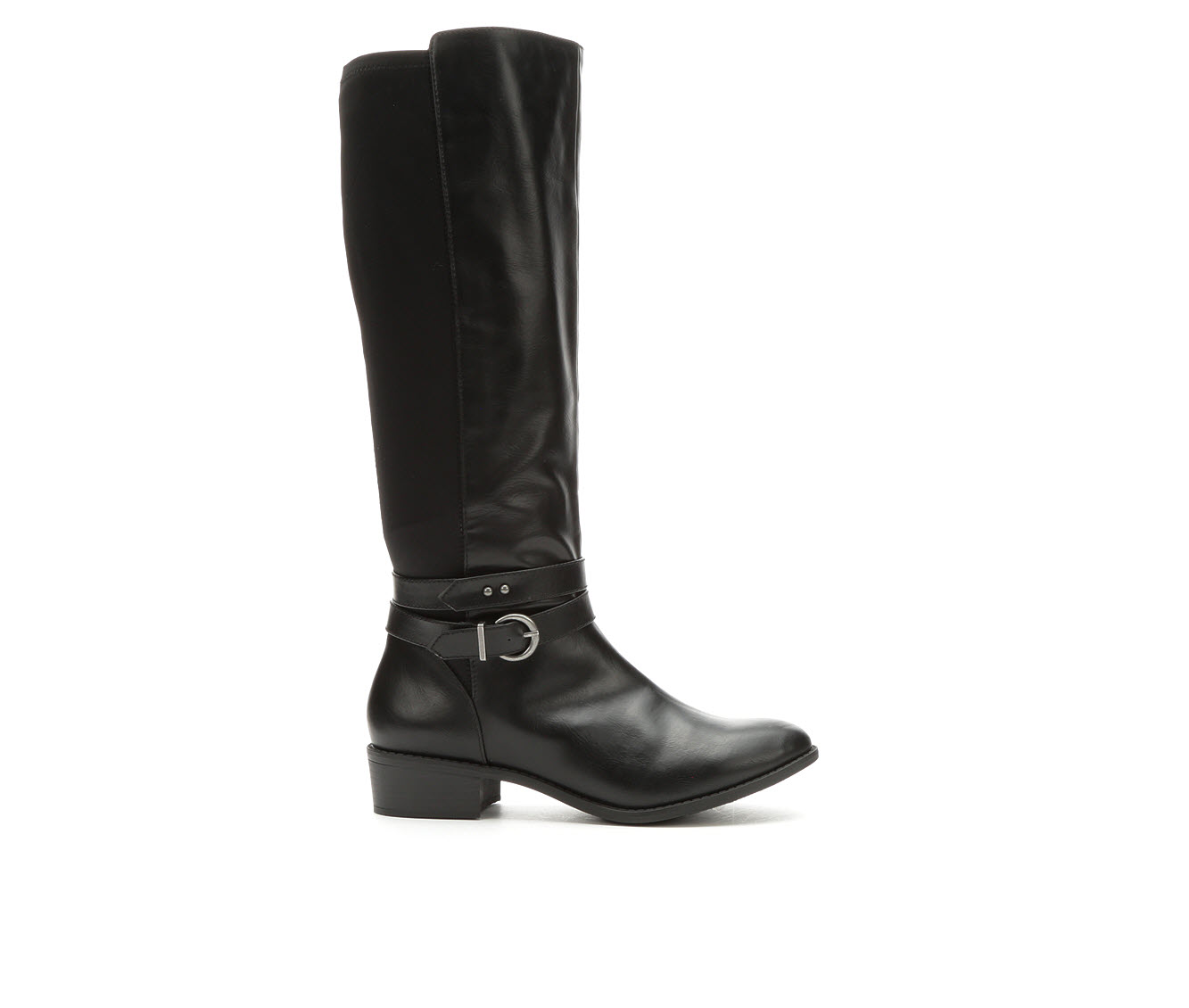 Rampage Imperial Women's Boot (Black Faux Leather)