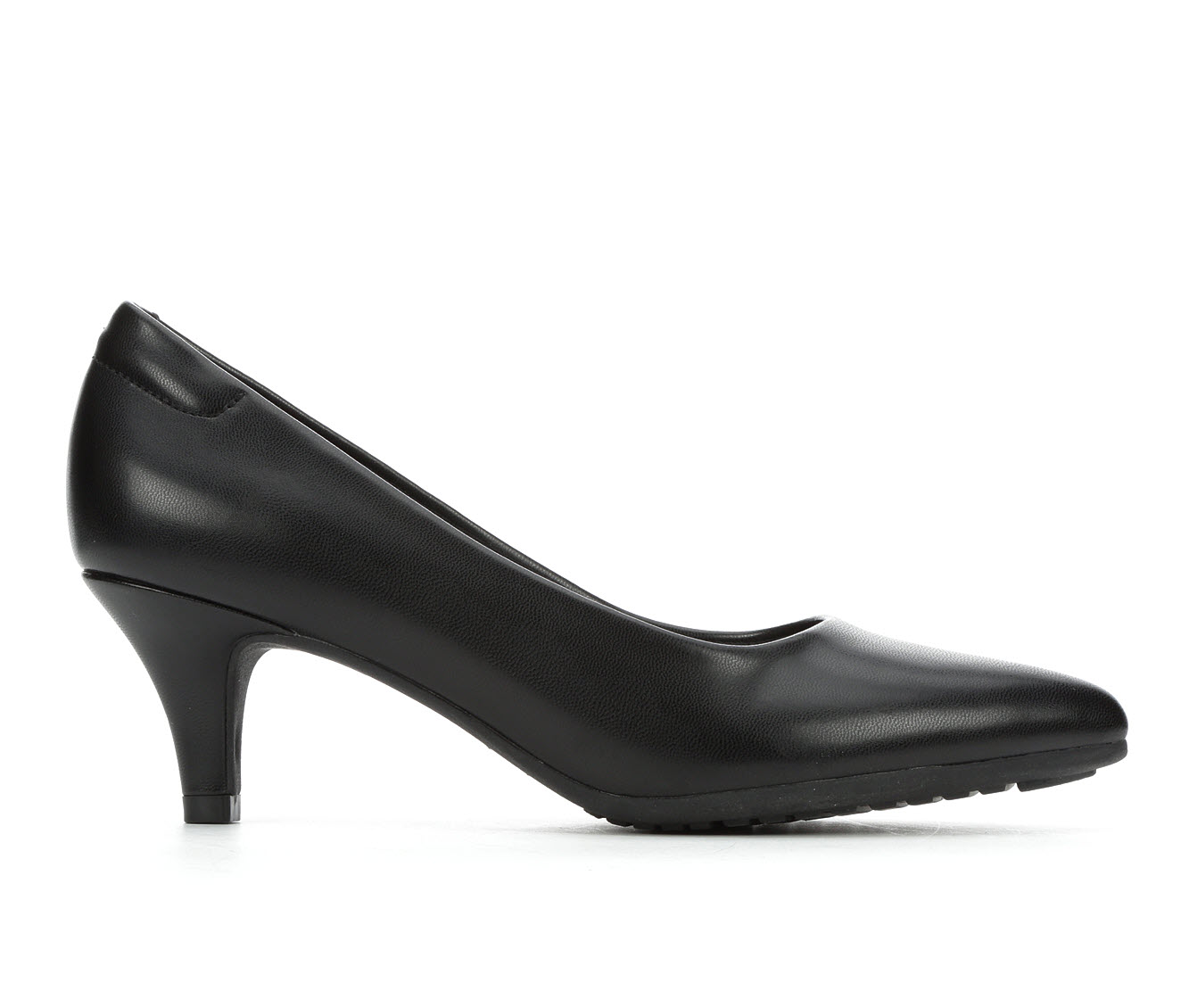 Andiamo Brenda Women's Dress Shoe (Black Faux Leather)