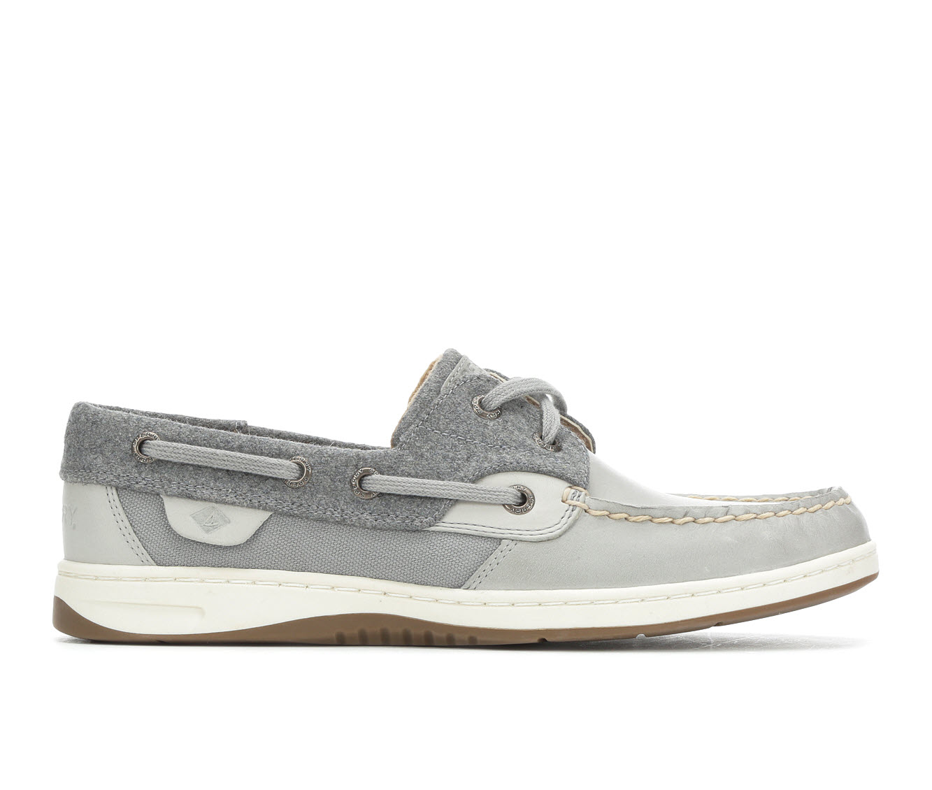 Sperry Bluefish Wool Women's Shoe (Gray Leather)