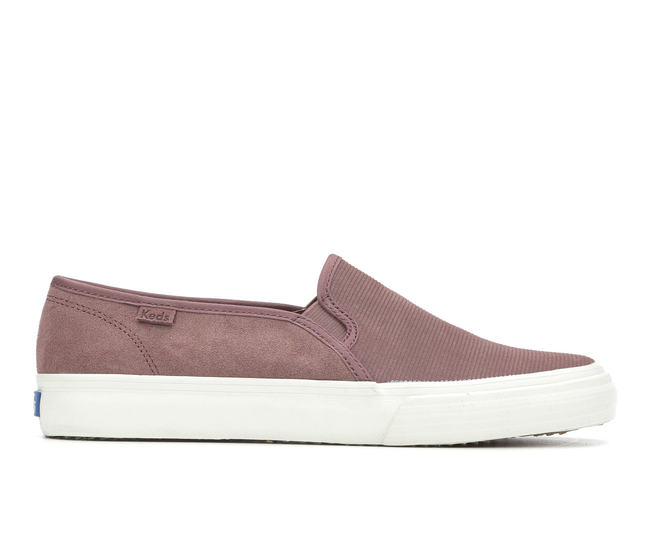 Keds Double Decker Suede Women's Shoe (Purple Canvas)