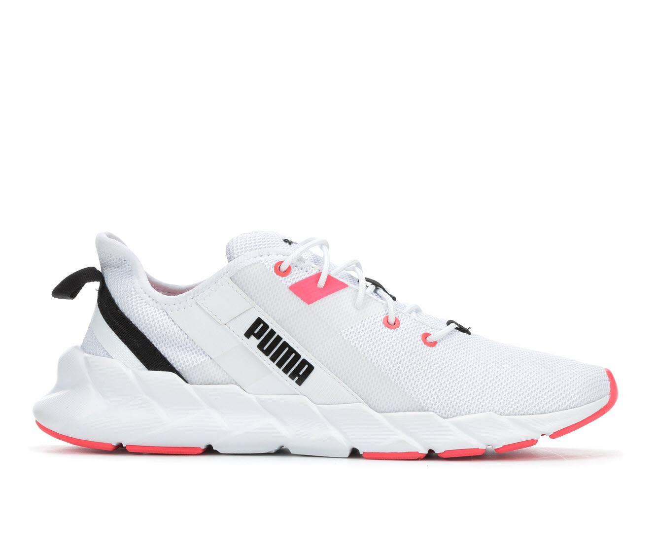 Puma Weave XT Women's Athletic Shoe (White)