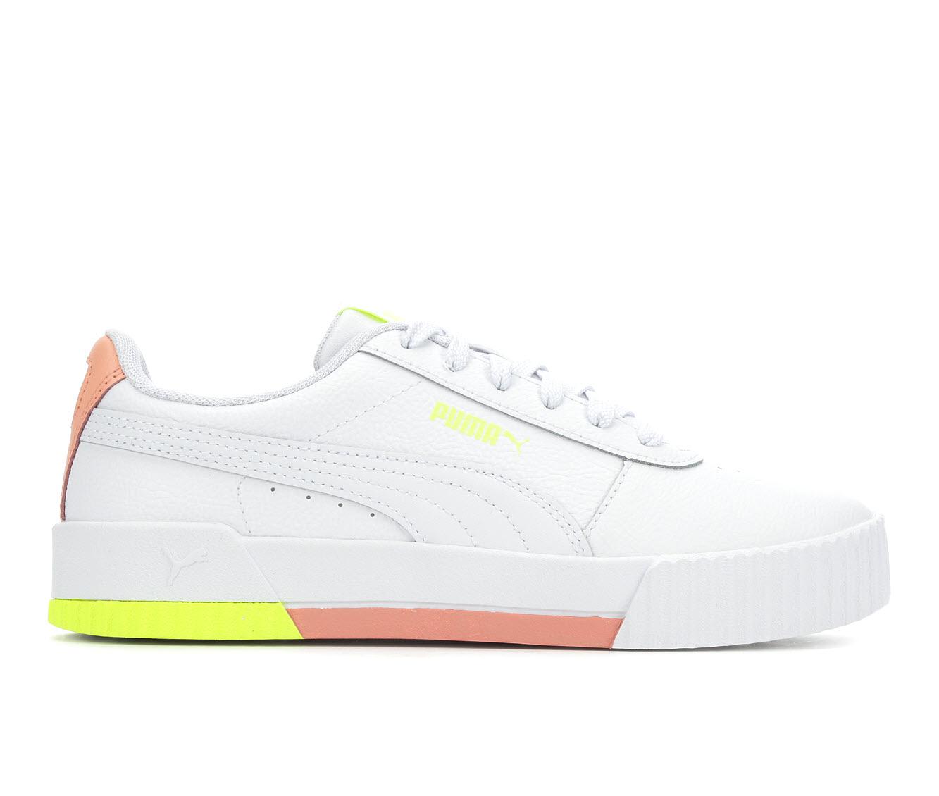 Puma Carina L Women's Athletic Shoe (White)