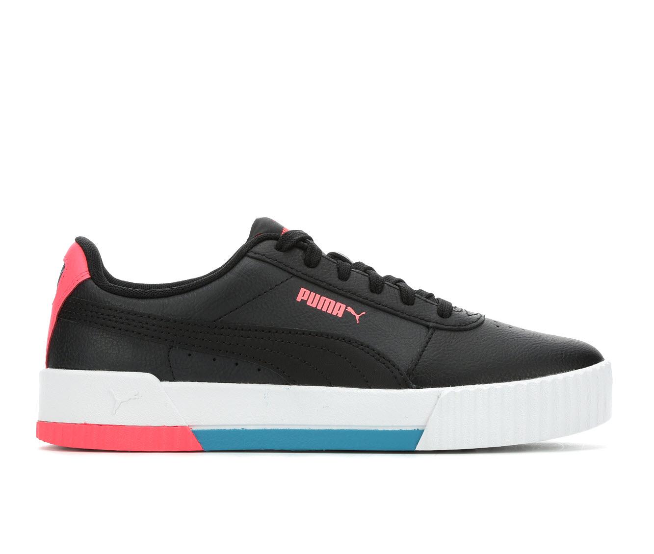 Puma Carina L Women's Athletic Shoe (Black)