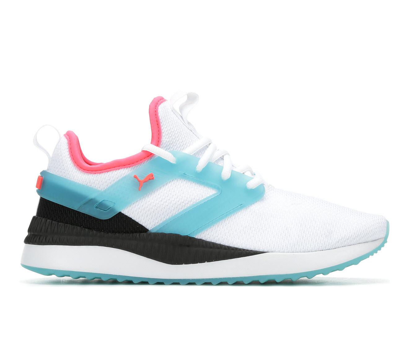 Puma Pacer Next Translucent Women's Athletic Shoe (White)