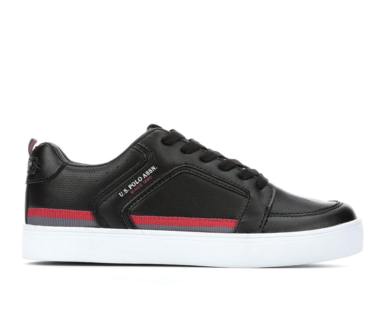 US Polo Assn Prime Women's Shoe (Black Faux Leather)