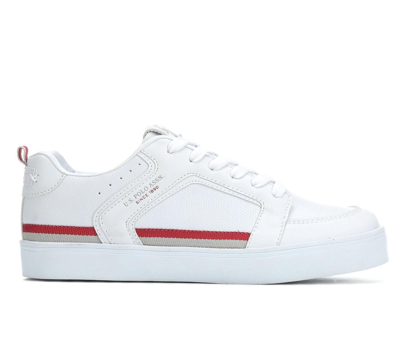 US Polo Assn Prime Women's Shoe (White Faux Leather)