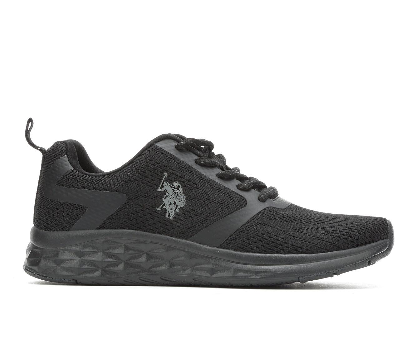 US Polo Assn Dane-E Women's Shoe (Black Faux Leather)