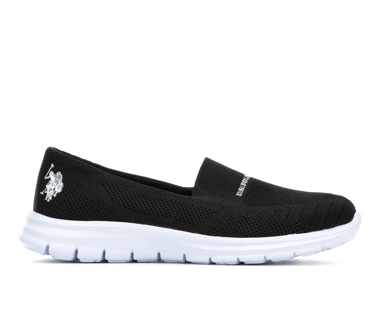 US Polo Assn Clone-K Women's Shoe (Black Canvas)