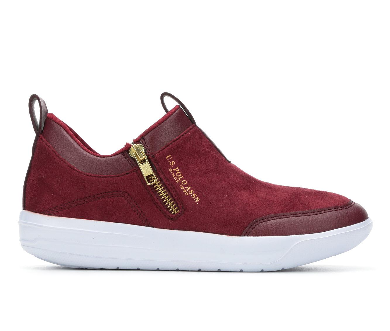 US Polo Assn Mega Women's Shoe (Red Faux Leather)