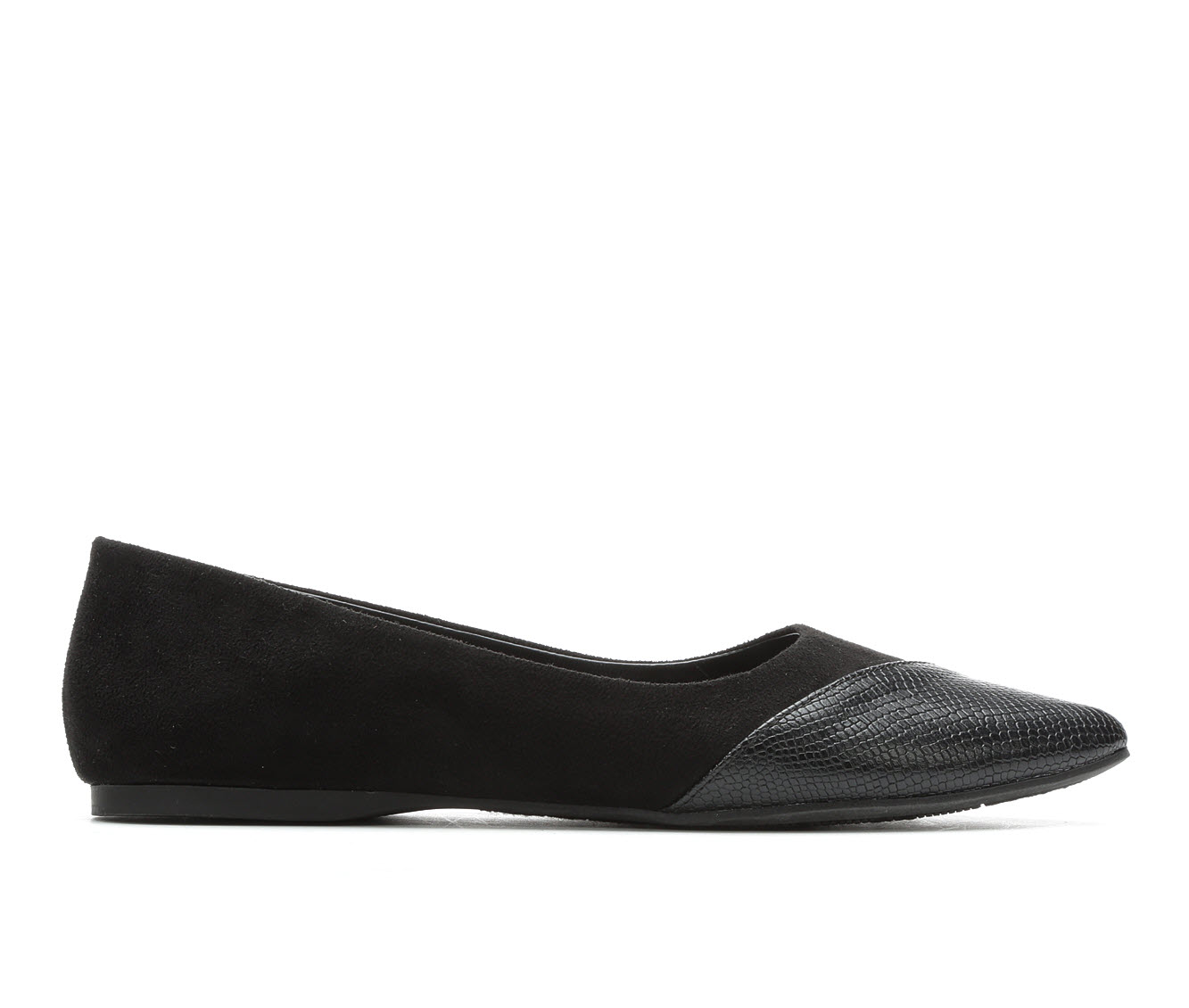 Y-Not Allison Women's Shoe (Black Faux Leather)