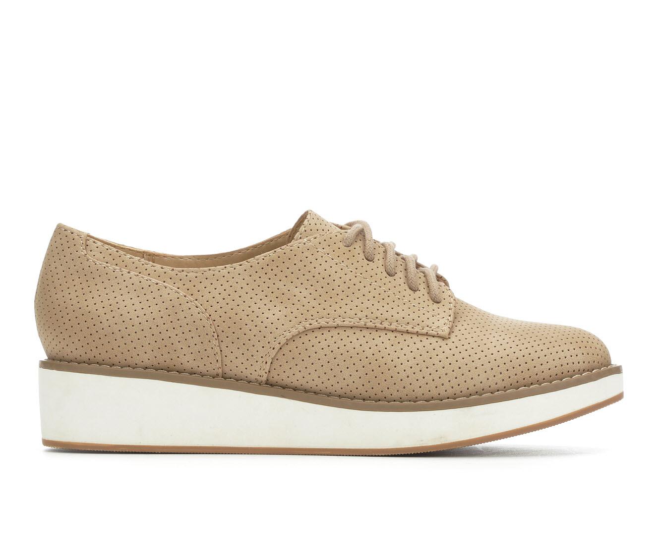 Y-Not Amiee Women's Shoe (Beige Faux Leather)