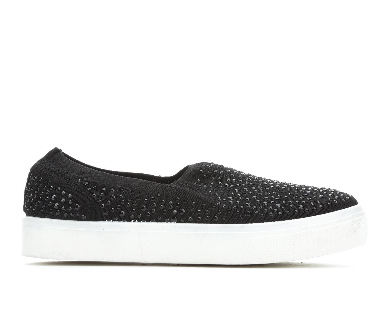 Skechers Street Studded Affair Women's Shoe (Black Canvas)