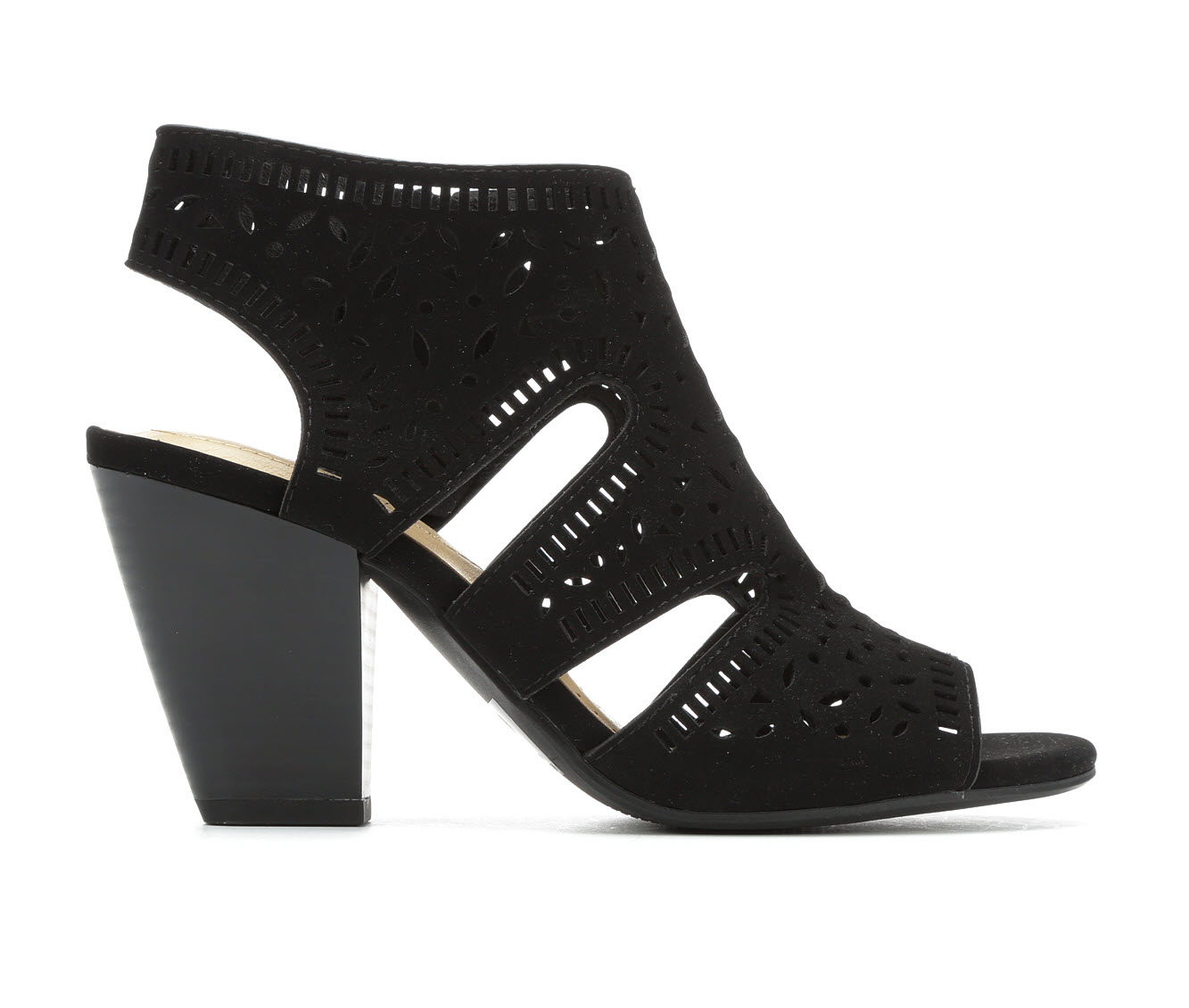 Y-Not Zada Women's Dress Shoe (Black Faux Leather)