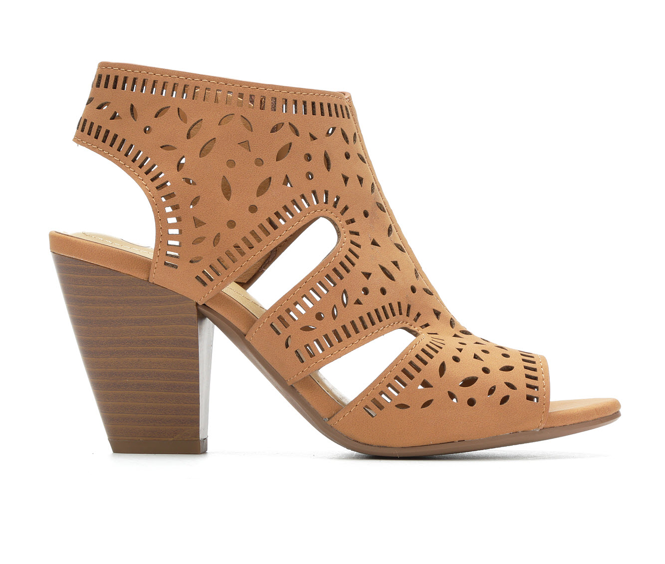 Y-Not Zada Women's Dress Shoe (Brown Faux Leather)