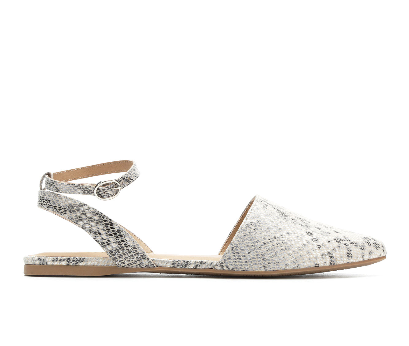 City Classified Gilly Women's Shoe (Beige Faux Leather)