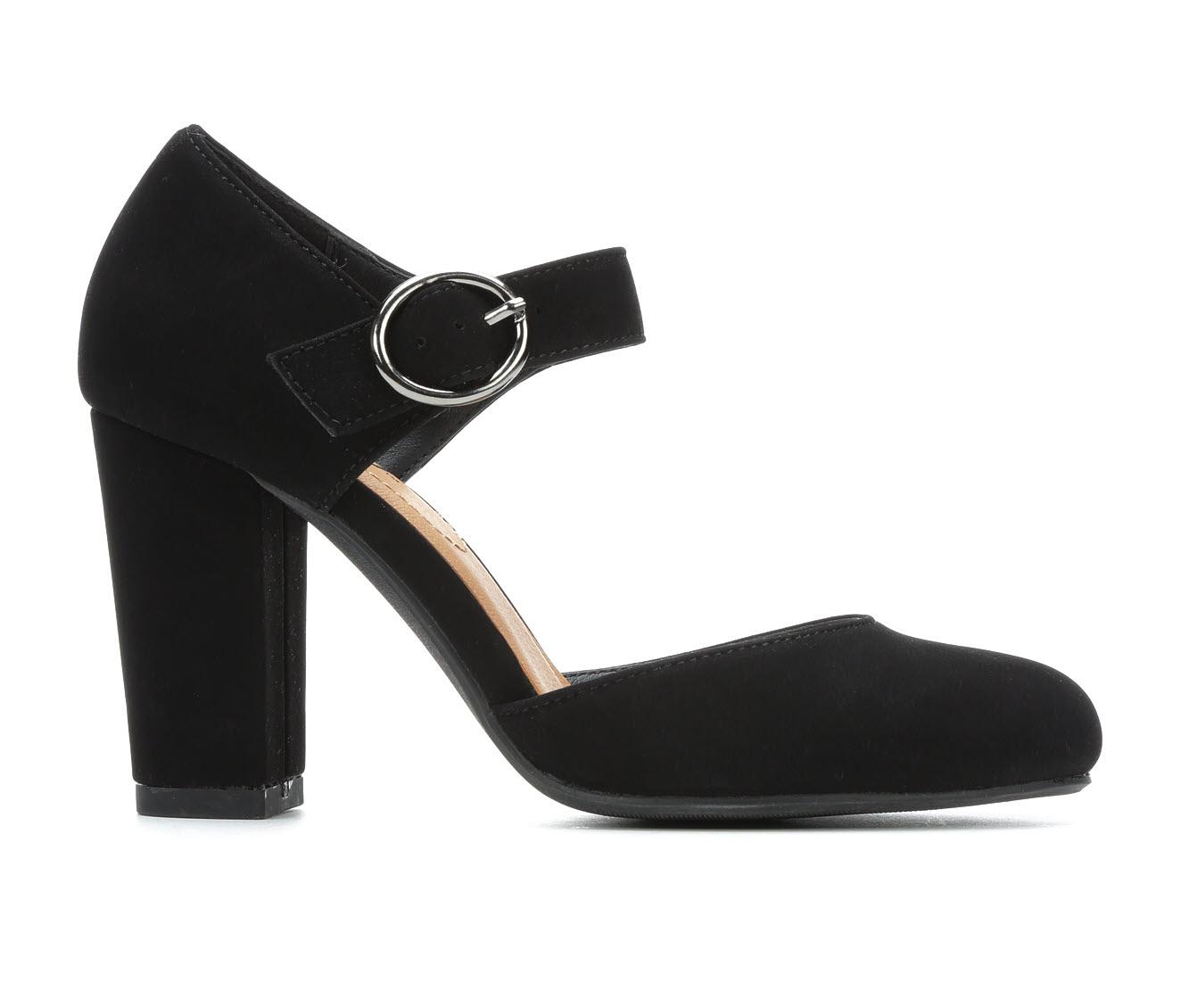 Y-Not Karrie Women's Dress Shoe (Black Faux Leather)