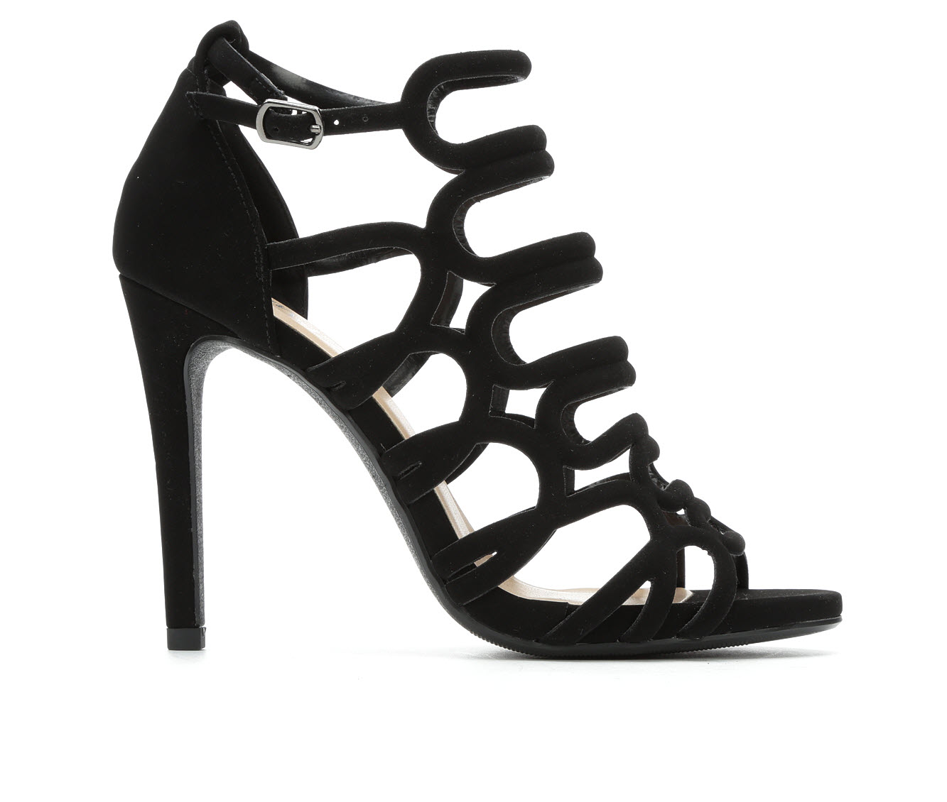 Y-Not London Women's Dress Shoe (Black Faux Leather)