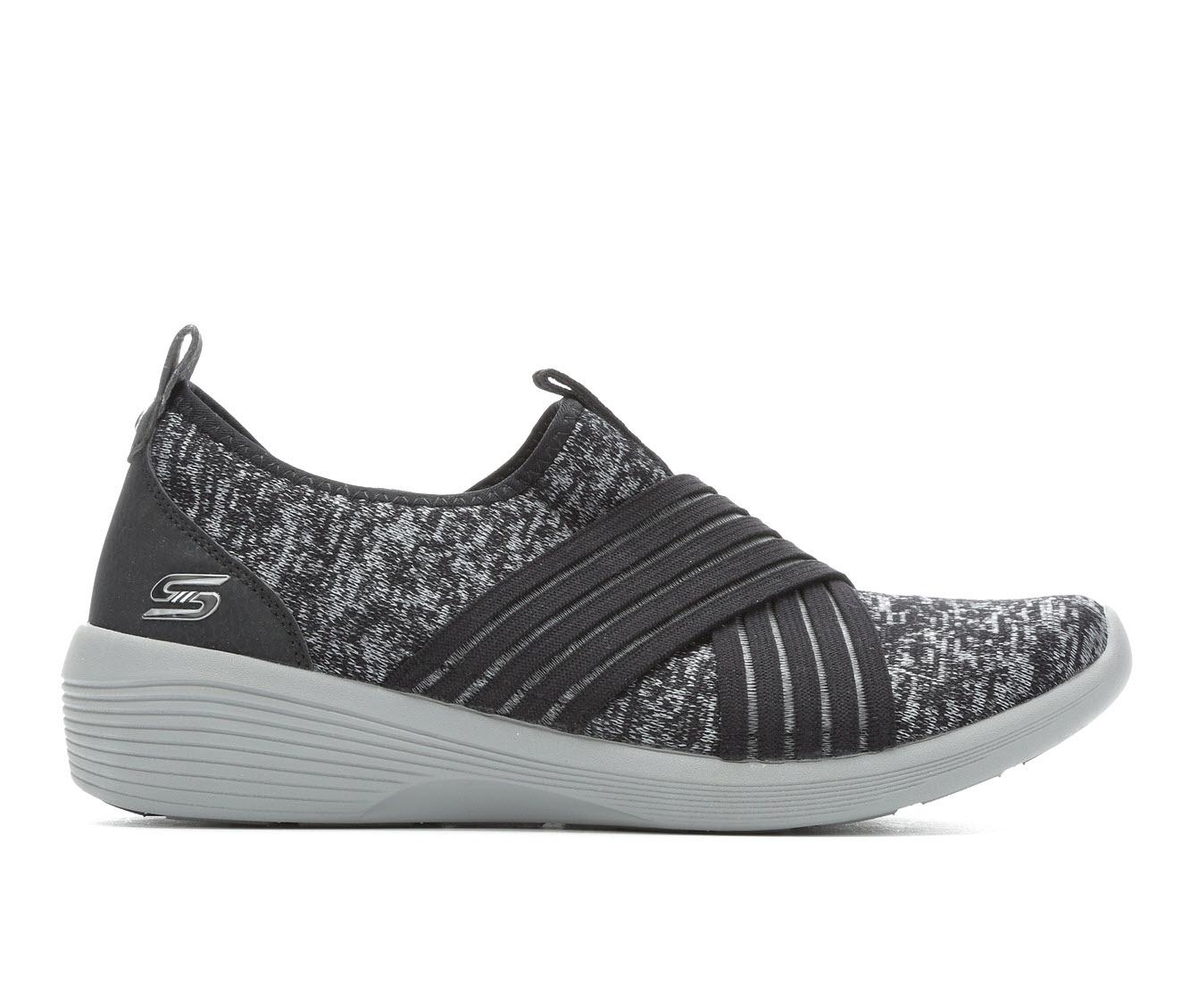 Skechers Crossfire 23764 Women's Shoe (Black Canvas)