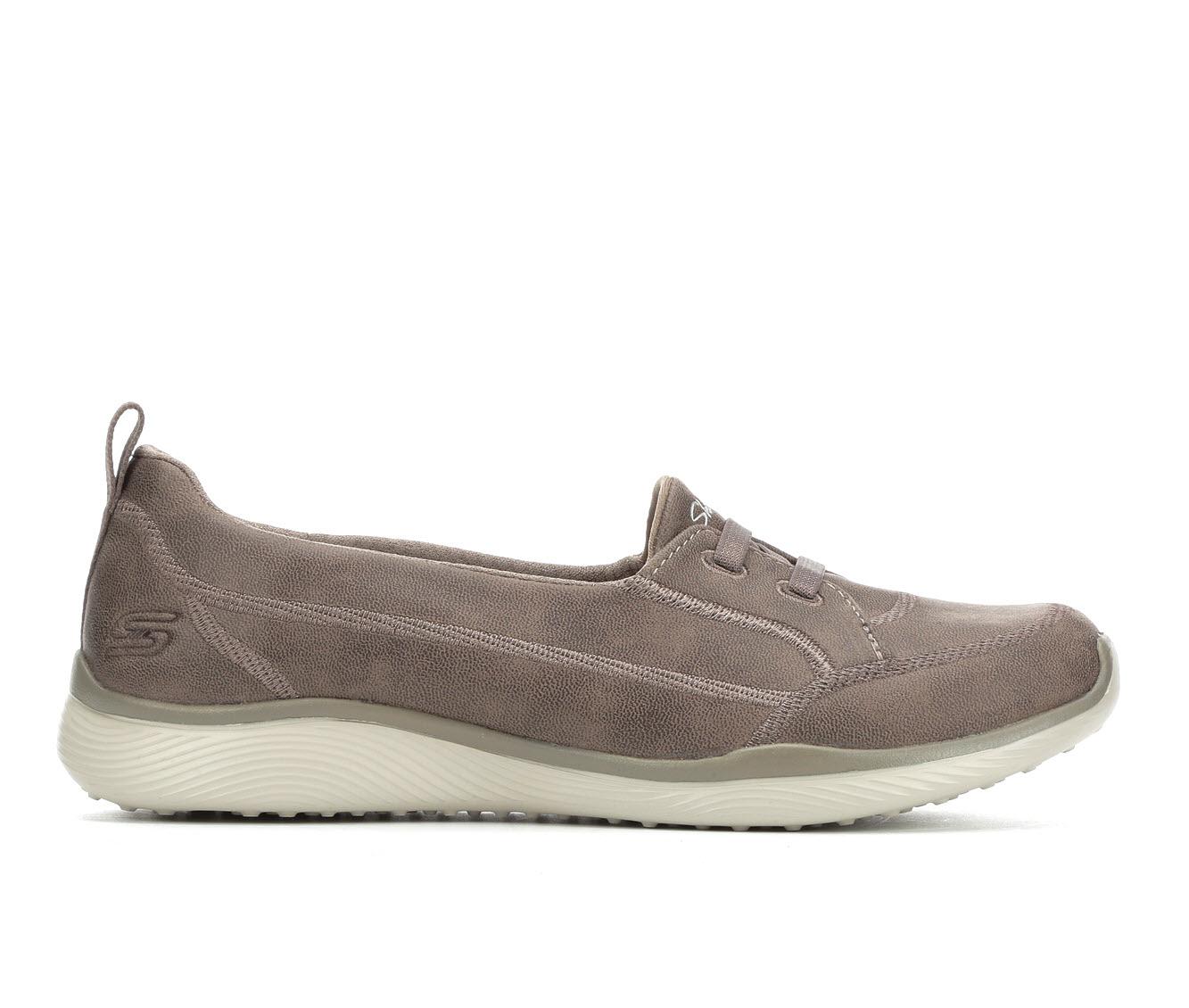 Skechers World Class 23489 Women's Shoe (Brown Faux Leather)