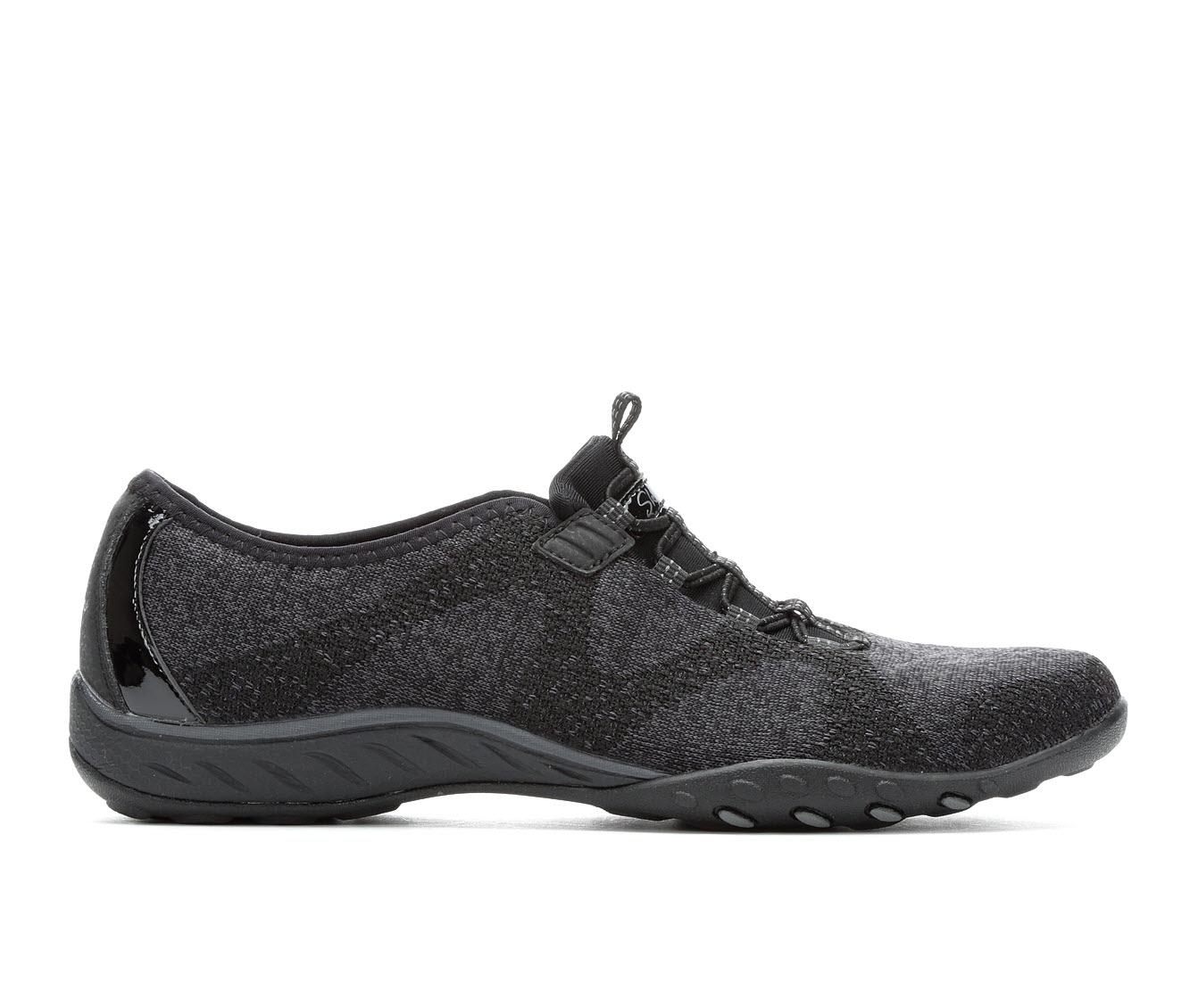 Skechers Opportunknity 23855 Women's Shoe (Black Canvas)