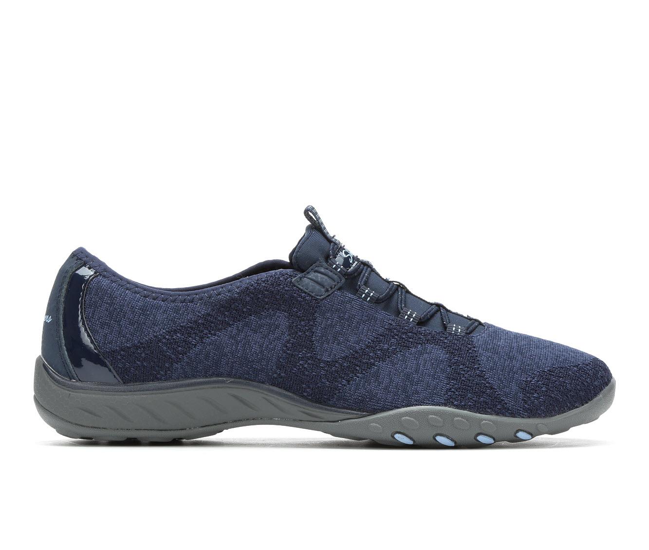 Skechers Opportunknity 23855 Women's Shoe (Blue Canvas)