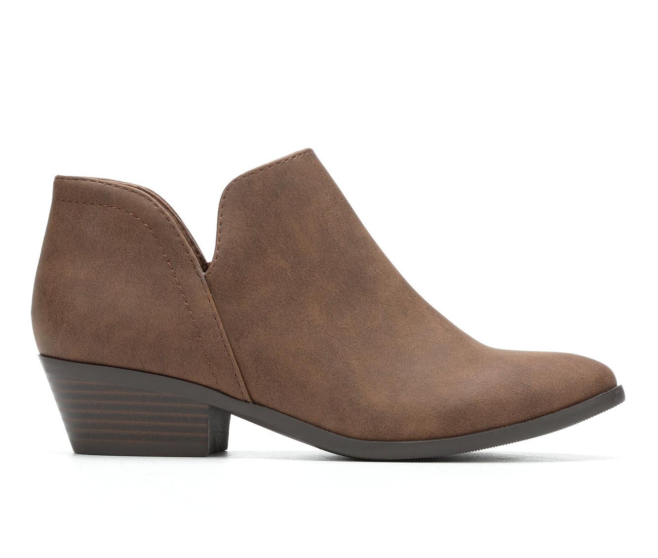 Unr8ed Magic Women's Boots (Brown - Canvas)