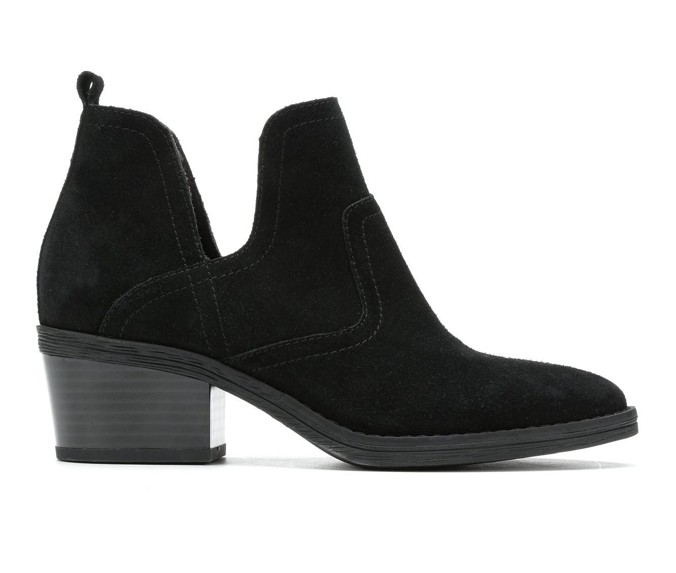 Vintage 7 Eight Dixon Women's Boot (Black Faux Leather)